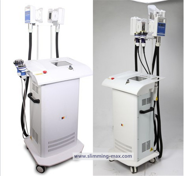 4 in 1 cryolipolysis cavitation rf slimming machine